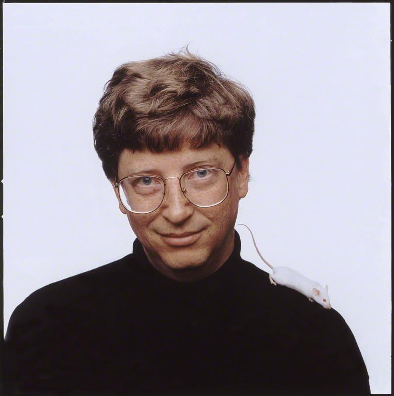 NPG x126813; Bill Gates by Fergus Greer