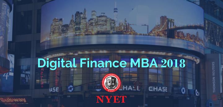Digital Fiance MBA - 2018